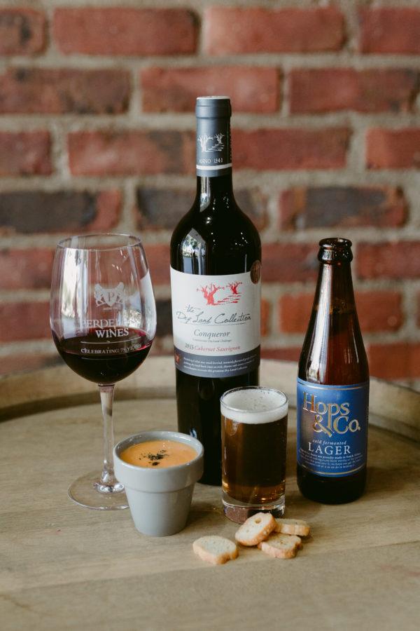 Hops & Co Beer pairing