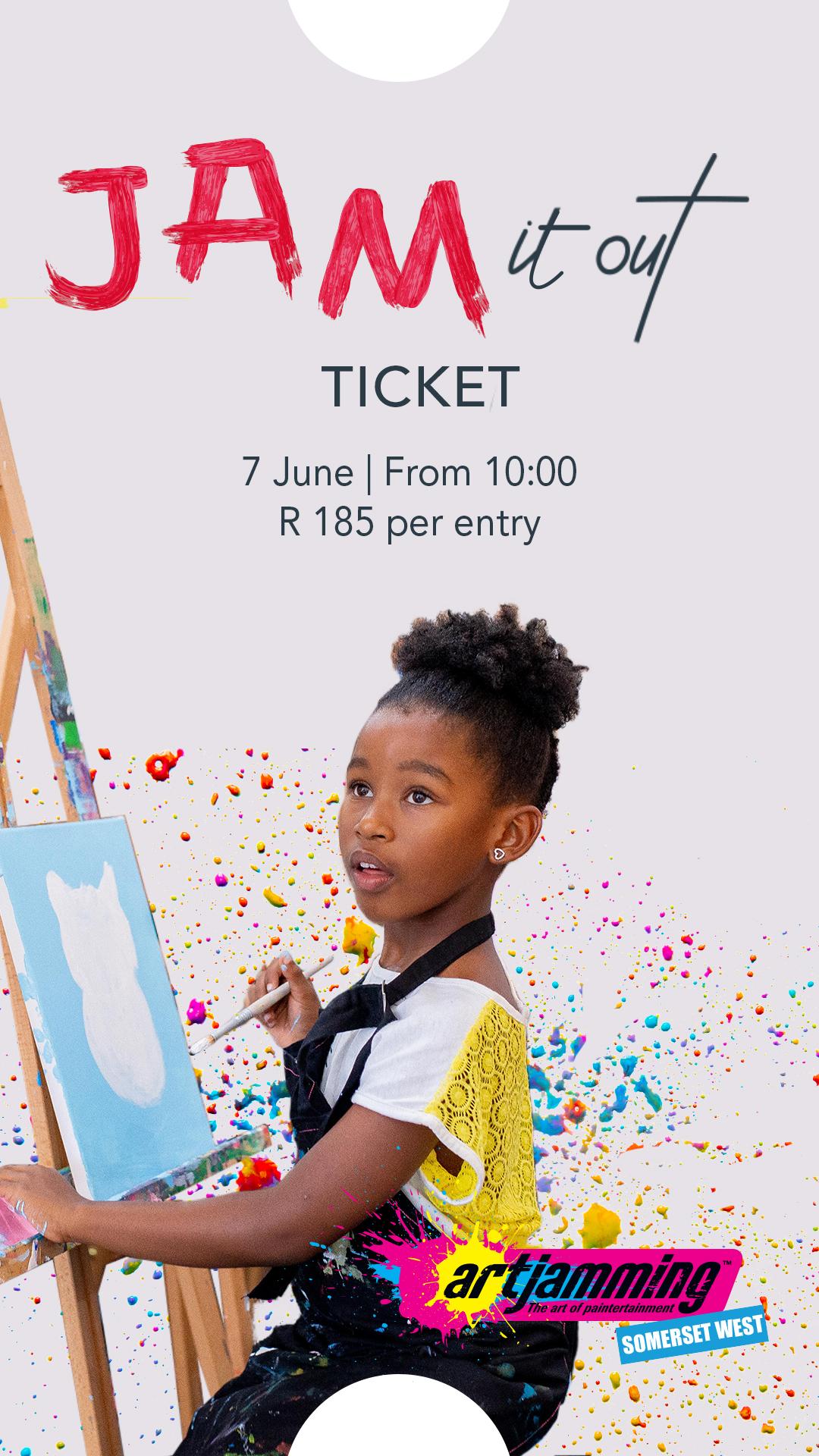 Art Jamming – Ticket Entry